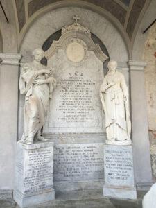 CIMITERO MONUMENTALE DI NOVARA Carlo Negroni Sepolcro