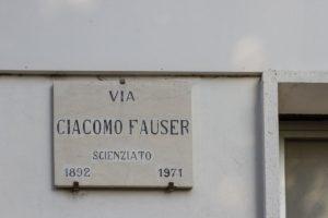 Cimitero Monumentale Novara Giacomo Fauser Vita