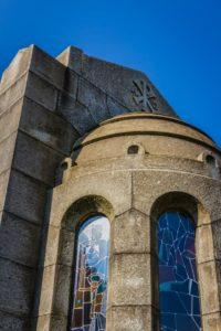 Cappella Monumentale. lato posteriore inquadratura da sx