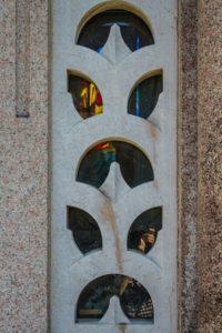 dettaglio finestra vetrata