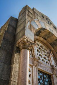 Cappella Monumentale. inquadratura da colonna sx