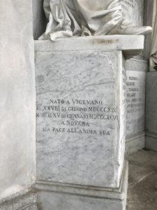 Cimitero Monumentale Novara Carlo Negroni Sepolcro
