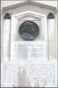 Cimitero Monumentale Novara Ugo Ferrandi Vita