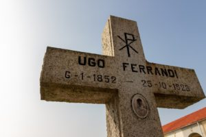 Cimitero Monumentale Novara Ugo Ferrandi Sepolcro