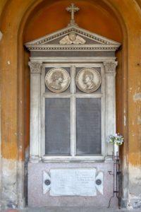 CIMITERO MONUMENTALE DI NOVARA Caterina Ferrandi Faraggiana Sepolcro