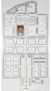 Mappe dei Sepolcri Monumentali Famiglia Ferrandi